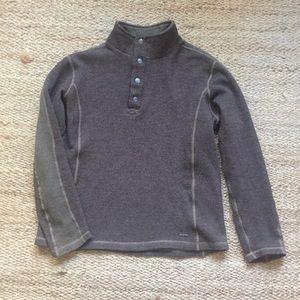 Exofficio Men's half button up sweater